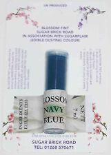 Sugarflair Navy Blue Blossom Tint Powder, 7ml, Edible Food Colour Dust