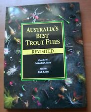 Australia's Best Trout Flies Revisited Malcolm Crosse Illustrated Angling Book