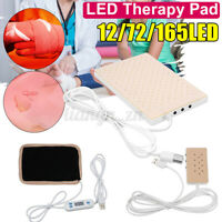 165LED USB Infrared LED Therapy Pad Machine Red Light Lamp Deep Penetration