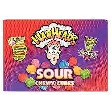 Warheads Sour Chewy Cubes US Import FREE POSTAGE