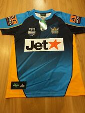 NRL GOLD COAST TITANS - Authentic 2004 Adidas Jersey New with tags Size Medium