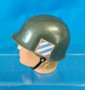 ACTION MAN Vintage US Machine Gunner HELMET HAT Accessory 1970s PALITOY GI Joe