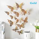 New 3d Hollow Butterflies Wall Sticker For Home Decoration Living Room Bedrouec