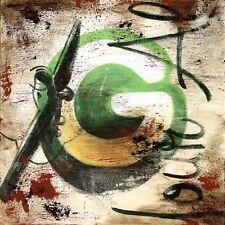 "36""x36"" G by RODNEY WHITE LETTER ALPHABET GICLEE CANVAS"