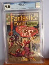 Fantastic Four #36 CGC 9.0  First Medusa Frightful Four