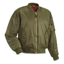 NEW FOX OUTDOOR MA-1 Insulated Flight Bomber Jacket Sage Small Water Resistant