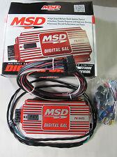 MSD 6425 Ignition Box MSD 6AL Digital CD with Rev Limiter Red