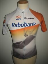 Rabobank WORN by Sam OOMEN jersey shirt cycling mailot dt KNWU size S