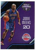 2015-16 Panini Totally Certified Mirror Purple /50 #29 Jodie Meeks Pistons