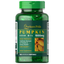 Pumpkin Seed Oil 1000mg 100 Softgels Prostate Health