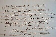 Ordonnance médicale de Joseph Récamier.