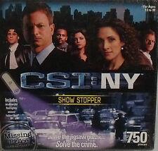 CSI NY Puzzle SHOW STOPPER 750 Pcs NEW Sealed Unopened UV Light