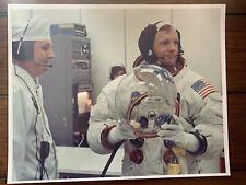 Vintage NASA Photograph - Apollo 11 Prelaunch Neil Armstrong