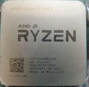 AMD Ryzen 3 1300X Quad Core 3.GHz CPU