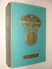 A to Z Horoscope Maker & Delineator 17th Ed. 1967 Llewellyn George Astrology