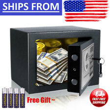 New Digital Electronic Safe Box Keypad Lock Home Office Hotel Gun Cash Jewelry..