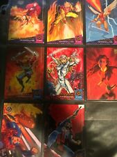 '94 FLEER ULTRA X-MEN CARDS (8)