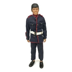ACTION TEAM VINTAGE MARINE NAVY OFFICER -ACTION TEAM  FIGURE DOLL 60s 1960s
