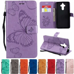 Flip Magnetic Leather Wallet Stand Case Cover For Huawei Mate 9/10 P9/10/20 Lite