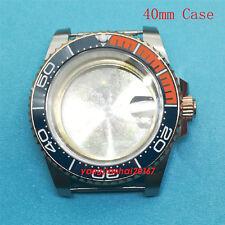 40mm Bliger SS Watch Case Fit ETA 2836DG2813/3804Miyota 8215 Movement-JM003
