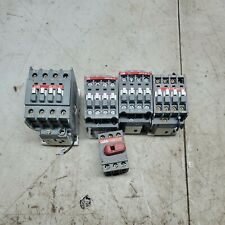 Abb Contactor And Switch Lot Ae26 30 Ax09 30 10 Ax12 30 10 Ae16 30 00