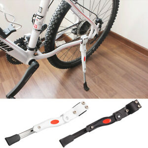 Bike Kick Stand Cycle Adjustable Rubber Foot Heavy Duty Prop Bicycle Mountains