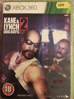 #1276 - XBox 360 - Kane & Lynch 2 Dog Days