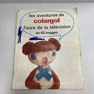 RARE Album image type panini VITHO Les aventures de l'ours Colargol ORTF complet