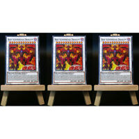Yugioh PROXY 3x-Playset: Red Supernova Dragon | Card Orica Custom Rotdrachen