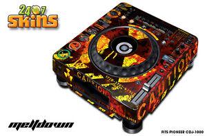 Skin Decal Sticker Wrap for Pioneer CDJ 1000 Turntable DJ Mixer Pro Audio MLTDWN