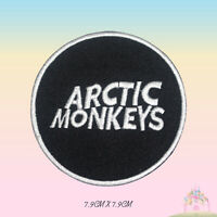 Arctic Monkeys Rock Music Band Logo Embroidered Iron On Patch Sew On Badge