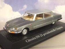 ATLAS 1/43 CITROEN DS21 PRESIDENTIELLE CHAPRON Limousine Nixon/DE GAULLE 1969