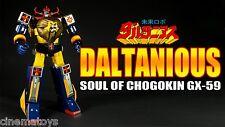 Bandai Soul of Chogokin GX-59 Mirai Robo Daltanious Robot Daltanius SOC RARO!!!!