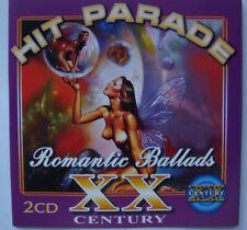 HIT PARADE XX Century - Romantic Ballads (2CD in the set, 39 tracks, NEW,SEALED)