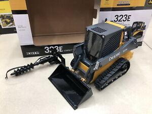 ERTL 1/16 Scale JOHN DEERE 323E Compact Track Loader 2018 Diecast Model Toy