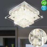 LED Wand Kron Leuchter Glas Kristalle Wohn Zimmer Vintage