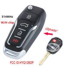 Upgraded Remote Key 314MHz H for Toyota RAV4 Tacoma Scion xB FCC ID: HYQ12BDP