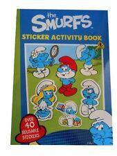 Alligator Books The Smurfs Sticker Actvity Book Book
