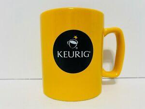 Keurig Coffee Cup Yellow Keurig Branded Mug