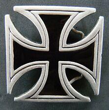 Crusade Crusader Templar Knights Black Cross Belt Buckle Buckles Boucle Ceinture