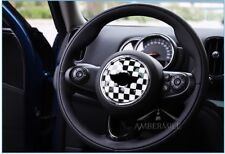 Chess Mini Cooper F55 F56 R56 Car Steering Wheel Sticker Logo Circle Decal Badge