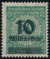 DR 1923, MiNr. 336 A Wb, tadellos postfrisch, Fotoattest Bechtold, Mi. 450,-