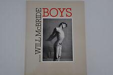 Will McBRIDE Boys - Bucher Verlag 1986 RAR Sammler Männererotik