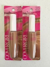 2 Covergirl Ready Set Gorgeous Fresh Complexion Concealer Deep 315/320