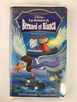 Walt Disney The Rescuers French Edition VHS Rare HTF