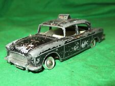 Dinky Toys 256 Humber Hawk Police Car incomplete for renovation