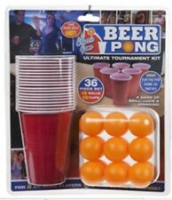 Pms 36pc Beer Pong Set in Double BLISTER Card Drinking Game Party Adult
