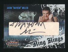 "2008 Donruss Playoff JASON ""Mayhem"" MILLER Ring Kings auto /100 UFC"