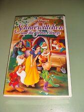 Schneewittchen und die Sieben Zwerge, Walt Disneys Klassiker (VHS)