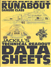 Jackill's Technical Readout-Runabout-Danube Class-3 Blueprint Sheets(M5316)